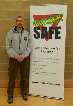 Andi Kidd and Street Safe banner